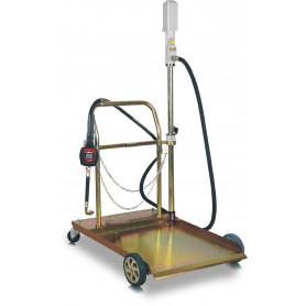 Pompe à huile pneumatique mobile