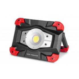 Lampe de chantier SLIM LED 20 W et batterie intégrée 6h d'autonomie