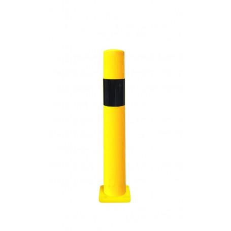 Poteau de sécurité jaune/noir