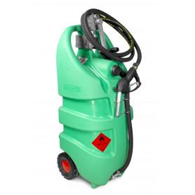 Caddy ravitailleur essence mobile 110L en PE avec pompe + pistolet