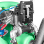 Caddy ravitailleur essence mobile 110L en PE pompe 12V ATEX + pistolet