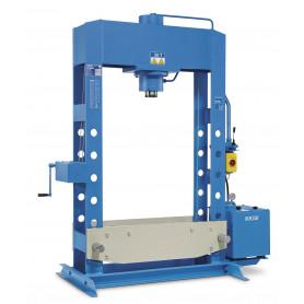 Presse hydraulique d'atelier motorisée 50 t 1,5 kW