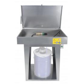 Nettoyeur de pièces avec pompe électrique