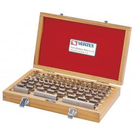 Boîtes de 47 cales en acier