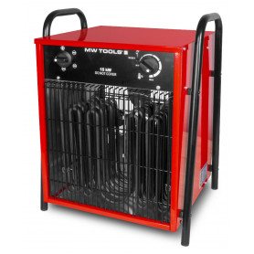 Chauffage air pulsé mobile électrique 15 kW - 380V MW-Tools WEL15