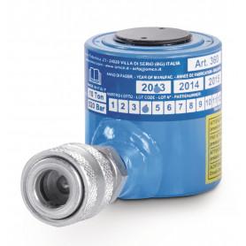 Vérin hydraulique 10 t profil extra bas OMCN O360/M