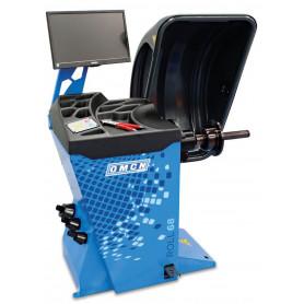 Équilibreuse de roues automatique ROLL 68 ø 1120 mm OMCN O8012