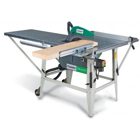 Scie à table pour le bois ø 315 mm Holzstar TKS315 PRO-400V