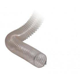 Tuyau transparent spiralé  40mm Holzkraft 5142500
