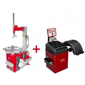 Pack démonte-pneu et équilibreuse de roues BT100M+BB350 MW-Tools BT100M SET3