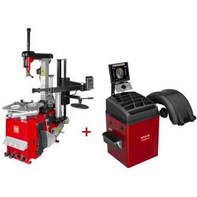 Set démonte-pneu BT300HM + équilibreuse de roues BB500 MW-Tools BT300HM SET4