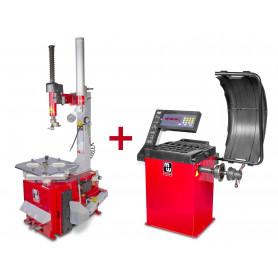 Pack démonte-pneu et équilibreuse de roues BT200M+BB200 MW-Tools BT200M +BB200