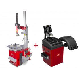 Pack démonte-pneu et équilibreuse de roues BT200M+BB350 MW-Tools BT200M SET3
