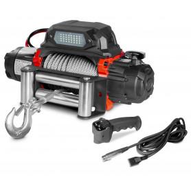 Treuil électrique 12V acier 5443kg 26m haute vitesse MW-Tools SEL550012