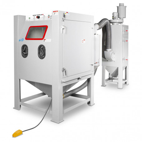 Cabine de sablage cyclone 1350 l MW-Tools SCIN1350