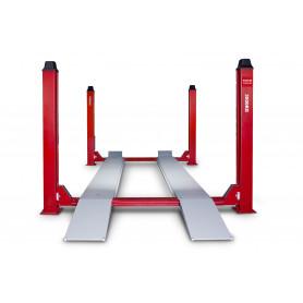 Pont élévateur hydraulique 4 colonnes 3,5 t MW-Tools HB435