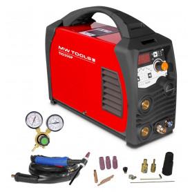 Poste à souder inverter TIG 200A - HF - manomètre inclus MW-Tools TIG200P