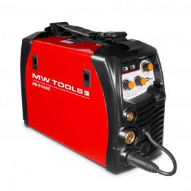 Poste à souder onduleur MIG-MAG-FLUX 160A - manomètre inclus MW-Tools MIG160E