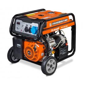 Groupe électrogène essence 5,5 kW réservoir 25 l Unicraft PG-E60SEA