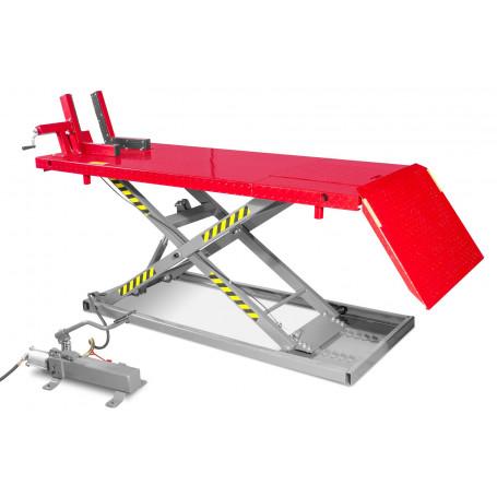 Table élévatrice hydraulique pneumatique 700 kg MW-Tools WT700P