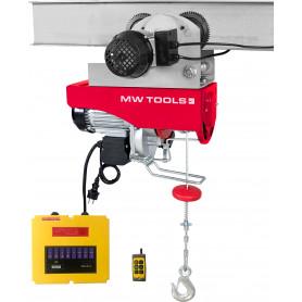 Palan électrique 200/400 kg avec chariot MW-Tools TH200-R