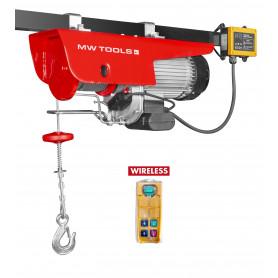 Palan électrique SANS FIL robuste 500/1000 kg MW-Tools SH500-R