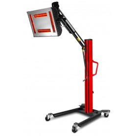 Sécheur de peinture infrarouge professionnel mobile 'gold' 4000W MW-Tools LDG4