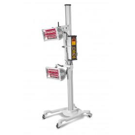Sécheur de peinture infrarouge professionnel mobile 2000 W MW-Tools LD2