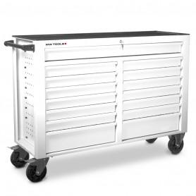 Servante d'atelier 15 tiroirs blanche MW-Tools GW115W