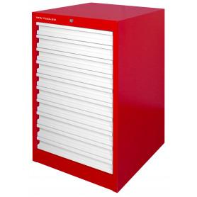 Armoire d'atelier à 10 tiroirs MW-Tools DELK10