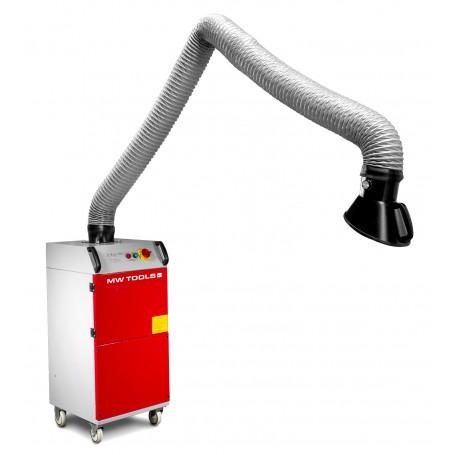 Aspirateur de fumée de soudage mobile 220V 2000 m³/h MW-Tools LA1801