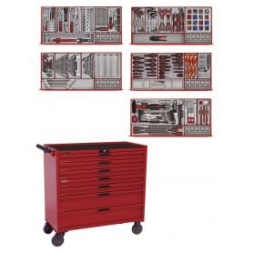 Servante d'outils complète 491 pièces - PS trays Teng Tools TCMM498N2