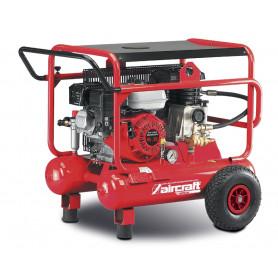 Compresseur de construction mobile moteur essence 10 bars - 2x10 l Aircraft AIRCAR 500/20B