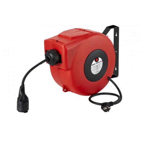 Enrouleur électrique 14 m - 3G 1,5 mm² MW-Tools HAE31514N