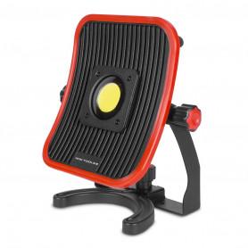 Lampe de chantier FLOW LED 30 W + batterie 4h d'autonomie MW-Tools WFL30LI