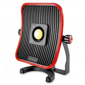 Lampe de chantier FLOW LED 50 W + batterie 6h d'autonomie MW-Tools WFL50LI