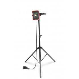 Lampe de chantier FLOW LED 30 W + Trépied télescopique 1800mm MW-Tools WFL30S