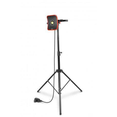 Lampe de chantier FLOW LED 50 W + Trépied télescopique 1800mm MW-Tools WFL50S