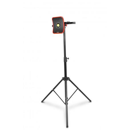 Lampe de chantier FLOW LED 50 W + Batterie 6h + Trépied télescopique 1800mm MW-Tools WFL50LIS