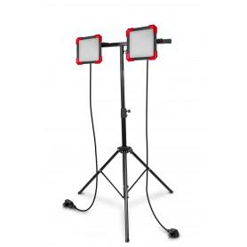 Double lampe de chantier FLOOD 50 W MW-Tools WFO2X50S
