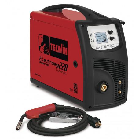 Poste à souder onduleur MIG-MAG 230 A - 1,2 mm Telwin ELECTROMIG220