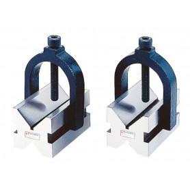 Paire de blocs en V - 2 V's et étrier de serrage réglable Vertex VBC-243
