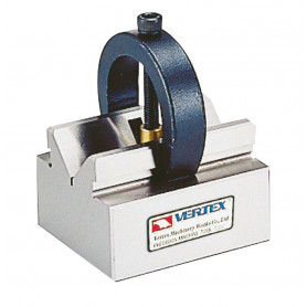 Paire de blocs en V - étriers de serrage réglables Vertex VBC-195-197