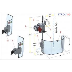 Ecrans de protection pour petites perceuses  MW-Tech PTR 04/140