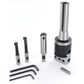 Tête d'alésage R8 Ø 10 à 110 mm Vertex VBHC-R8-BC2