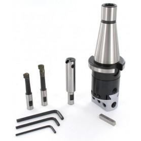 Tête d'alésage ISO DIN2080 Ø 10 à 110 mm Vertex VBHC-NT-BC2