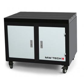 Etabli mobile avec plateau en fonte 800x600x875 mm MW-Tech SF-WB
