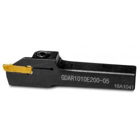 Porte-outils à saigner 10x10 mm - largeur 2 mm MW-Tools GDAR1010E200-05