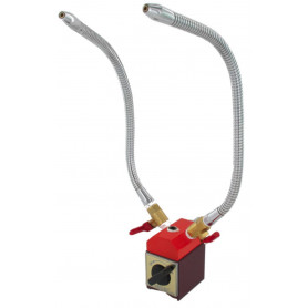 Tuyaux de refroidissement en métal à 2 voies sur base magnétique Vertex VMH-64