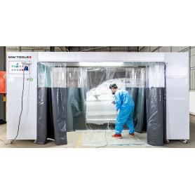 Cabine de peinture mobile 230 V MW-Tools MSC3600